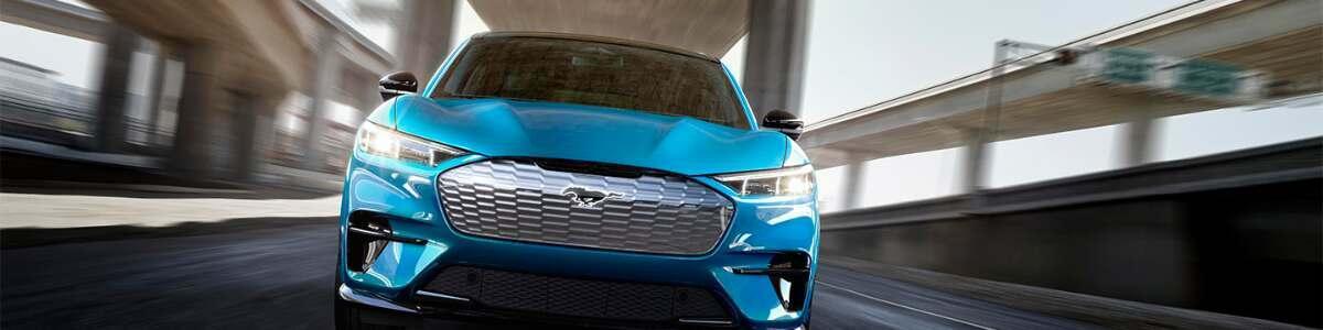 Blue Mustang E