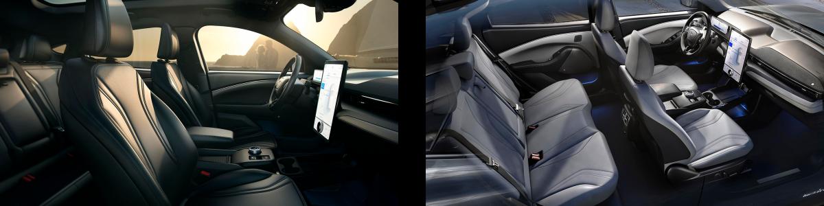 Mustang E Interior Top