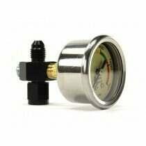 Nitrous Outlet 00-63001-6 Luminescent Nitrous Pressure Gauge & 6 AN Manifold