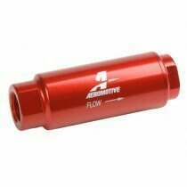 Aeromotive SS Series In-Line Fuel Filter (40 Micron Element)