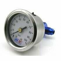 Nitrous Express Fuel Pressure Gauge 0-100 psi