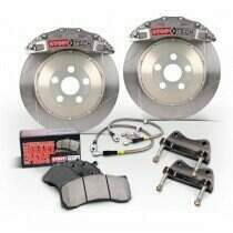 StopTech 07-2014 Mustang 380x32mm Big Brake Kit - Replaces OEM Brembos (Trophy Sport 6 Piston Caliper - Slotted Rotor)