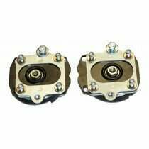 J&M 2011-2014 Mustang Adjustable Caster Camber Plates with Spring Isolators