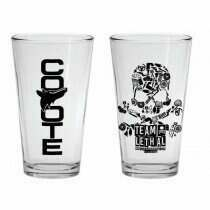Lethal Performance Limited Edition Pint Glasses w/ AMCR Logo (PAIR)