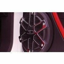 3dCarbon Mustang Aluminum Speaker Covers (Pair)