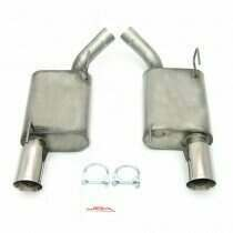 """JBA 05-2010 Mustang 2.5"""" Axleback System with 4"""" Dual Wall Tips"""