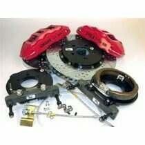 Baer 05-2014 Mustang Exteme+ 6-Piston Rear Brake System (SHELBY)