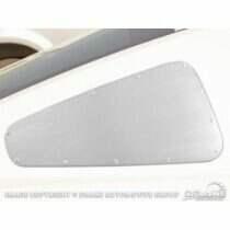 Scott Drake 2005-09 Mustang Quarter Window Covers (Satin)