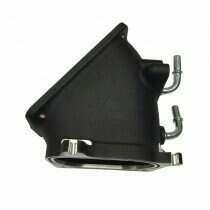 Black VMP TVS High-Flow Inlet Elbow 07-10 GT500 +20-40HP