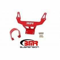 BMR DSL110R Red Driveshaft Safety Loop, Front 2015 - 2018 Dodge Challenger