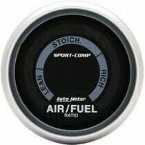 "Autometer Sport Comp 2-1/16"" Electric Air/Fuel Ratio Gauge"