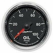"""Auto Meter GS Series 2 1/16"""" 0-100psi Oil Pressure Gauge"""