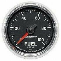 "Auto Meter GS Series 2 1/16"" 0-100psi Fuel Pressure Gauge"
