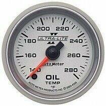 "Autometer Ultra-Lite II Series 2 1/16"" 140-280 deg Oil Temp."