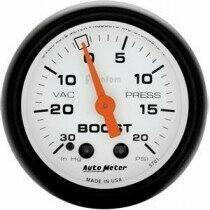 """Autometer Phantom Series 2 1/16"""" 30-/+20 Psi Boost/Vacuum Gauge"""