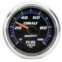 "Autometer Cobalt Series 2-1/16"" Electric Fuel Pressure Gauge"