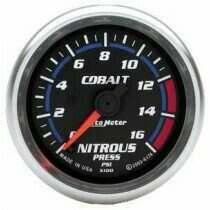 "Autometer Cobalt Series 2-1/16"" Electric Nitrous Pressure Gauge"