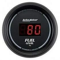 Autometer Sport Comp Digital Programmable Fuel Level Gauge