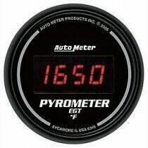 Autometer Sport Comp Digital Series 0-2000deg Pyrometer Gauge