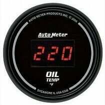 Autometer Sport Comp Digital 0-400deg Oil Temperature Gauge