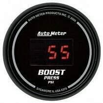 Autometer Sport Comp Digital Series 0-60psi Boost Gauge