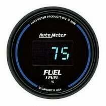 Autometer Cobalt Digital Series Programmable Fuel Level Gauge