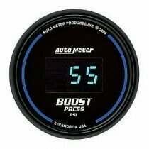 Autometer Cobalt Digital Series 0-60psi Boost Gauge