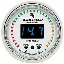 "Autometer C2 Series 2-1/16"" Wideband Air/Fuel Ratio Gauge Kit"