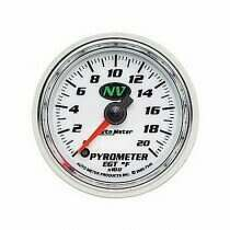 Autometer NV Series Electric 0-2000 deg. F Pyrometer