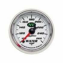 Autometer NV Series 100-260 deg. F Water Temperature Gauge