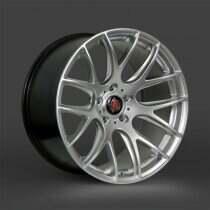 Lenso 05-2014 Mustang 22x9.5 Axe CS Lite Wheel (Hyper Silver)