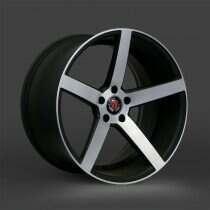 Lenso 05-2014 Mustang 18x9 Axe EX18 Wheel (Gloss Black / Machined Face)