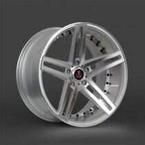 Lenso 05-2014 Mustang 22x9 Axe EX20 Wheel (Silver / Polished)