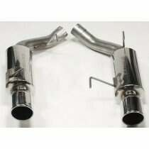"Bassani Stainless Steel Mufflers w/4"" SS Rolled Tips"