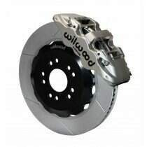 "Wilwood 140-13882-N 2005-2014 Mustang Aero6 14"" Race Front Brake Kit with Slotted Rotors"