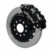 "Wilwood 140-9109 2005-2014 Mustang 13.06"" Forged Narrow Superlite 6R Front Big Brake Kit with Slotted Rotors"