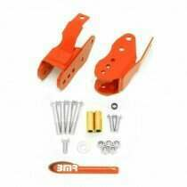 BMR 05-2014 Mustang Bolt-in Lower Control Arm Relocation Brackets (Red)