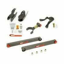 BMR 05-2010 Level 3 Rear Control Arm Package (Black Hammertone)