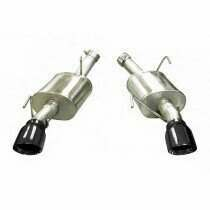 Corsa S197 Mustang XTREME Axle-Back System w/ Black Pro Series Tips (05-2010 Mustang GT / 07-2010 Shelby GT500)