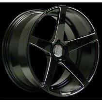 Lenso 05-2014 Mustang 20x9 Conquista 7 Wheel (Black)
