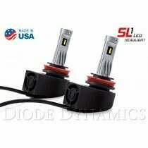 Diode Dynamics DD0217P  H11 SL1 LED Low Beam Headlight for 2015-2018 Ford F-150 (pair)