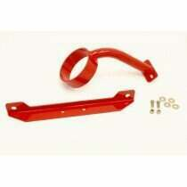 BMR 05-2010 Mustang / 07-2014 Shelby GT500 Front Driveshaft Loop (Red)