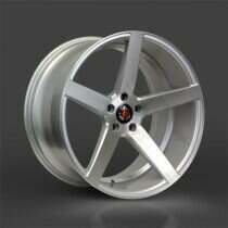 Lenso 05-2014 Mustang 20x8.5 Axe EX18 Wheel (Silver / Brushed Face)
