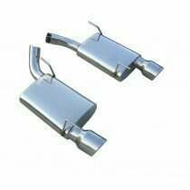 Pypes 05-2010 Mustang T-409 Stainless Violator Axleback Exhaust