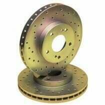 Stillen Cross Drilled Sport Rotors (Rear-Pair)