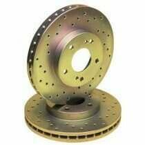 Stillen Drilled/Slotted Sport Rotors (Rear-Pair)