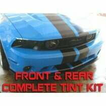 Anchor Room 2010-2012 Mustang Front & Rear Vinyl Tint Kit