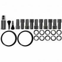 Race Star Industries Open End Lug Nut Kit for Direct Drilled Wheels (Half Kit)