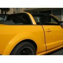 Anchor Room 05-2014 Mustang Wind Screen for CDC/MRT Light Bar (Clear)