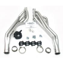 "JBA 07-2014 Shelby GT500 1-3/4"" Silver Ceramic Longtube Headers"